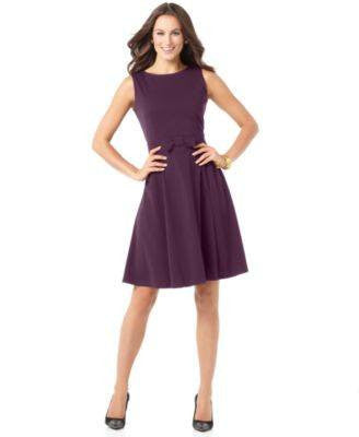 ELEMENTZ PETITE DRESS SLEEVELESS SCOOP-ELEMENTZ-Fashionbarn shop