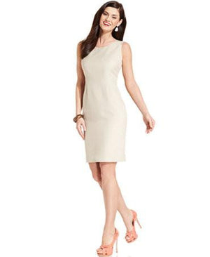 Le Suit Dress, Washable Sleeveless Sheath-LE SUIT-Fashionbarn shop