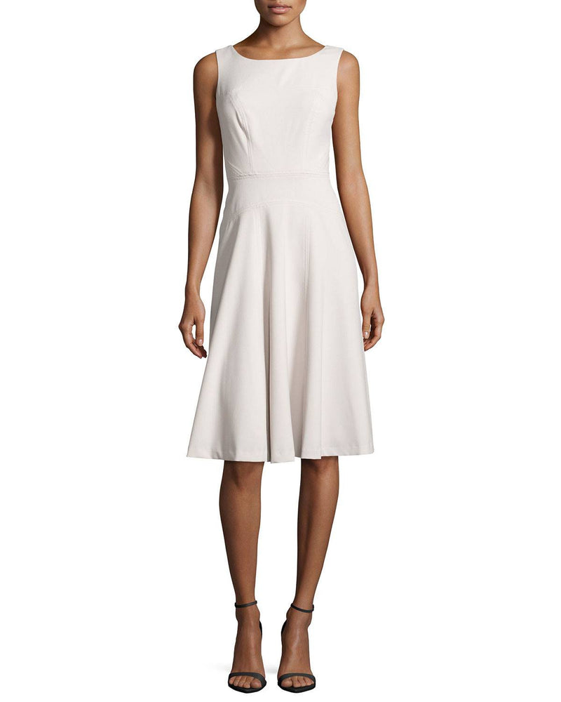 Marc New York by Andrew Marc Seamed Sleeveless Fit-and-Flare Dress-MARC NEW YORK by ANDREW MARC-Fashionbarn shop