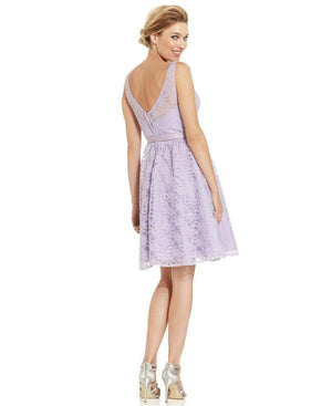 Marina Sleeveless Illusion Lace Dress-MARINA-Fashionbarn shop