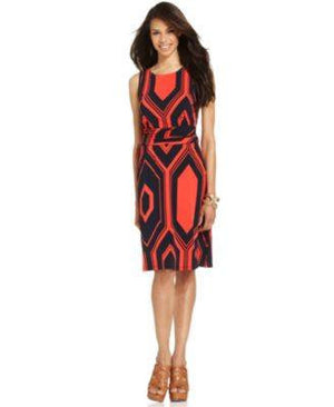 NY COLLECTION DRESS SLEEVELESS-NY COLLECTION-Fashionbarn shop