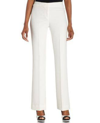 ANNE KLEIN PETITE STRETCH DRESS PANTS-ANNE KLEIN-Fashionbarn shop