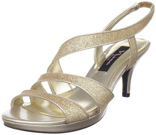 Nina Nolga Womens Dressy High Heel Sandals-NINA-Fashionbarn shop