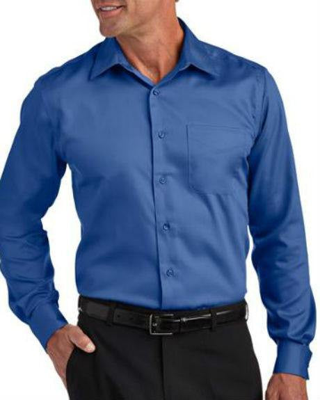 71ec67a755a Geoffrey Beene Black Non-Iron Fitted Stretch Sateen Solid Dress Shirt-GEOFFREY  BEENE-