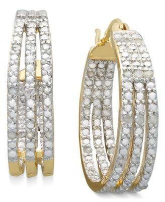 VICTORIA TOWNSEND DIAMOND EARRINGS-JASCO DESIGNS-Fashionbarn shop