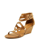 XOXO Sees Gladiator Wedge Sandals Tan - Fashionbarn shop - 1