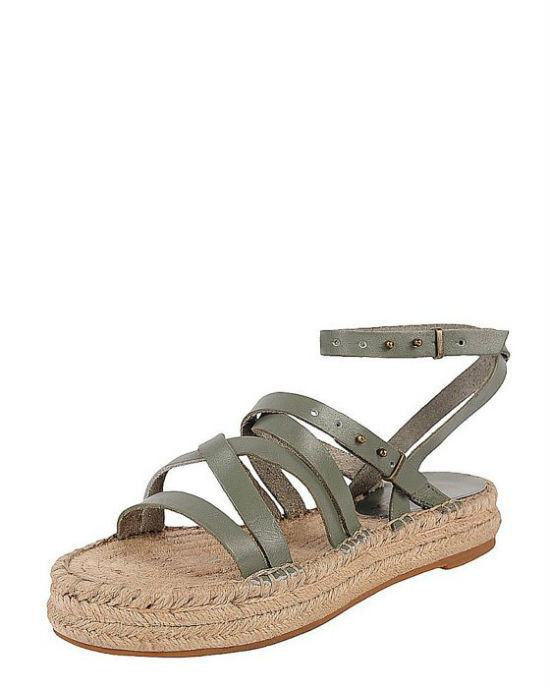 SPLENDID Open Toe Flat Platform Espadrille Sandals - Erin-SPLENDID-Fashionbarn shop