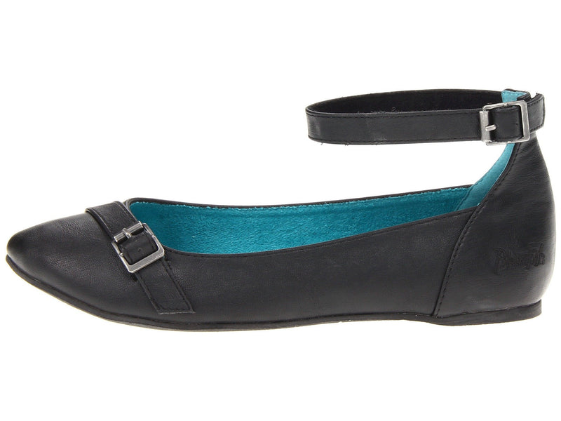Blowfish Nadki Black Oilstick Flats-BLOWFISH-Fashionbarn shop