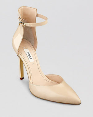 Guess Abaih 2 - Light Nat Leather Guess Footwear-GUESS-Fashionbarn shop