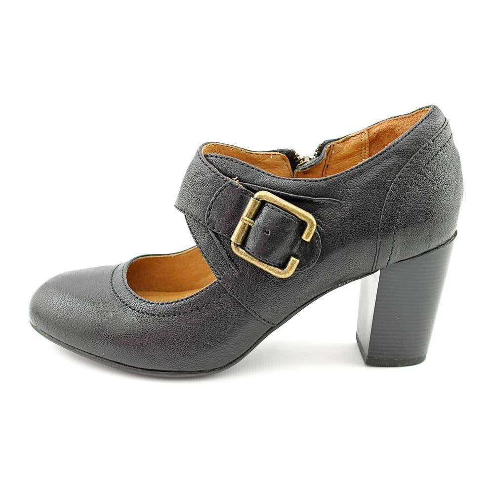 Indigo By Clarks Town Club Womens Leather Mary Janes Heels-CLARKS OF  ENGLAND-Fashionbarn