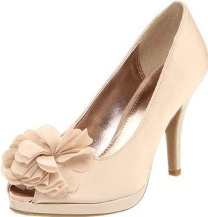 Unlisted Kenneth Cole Natural Glow Peep Toe Pumps Heels Shoes-UNLISTED-Fashionbarn shop
