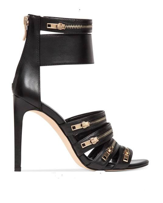Bcbgeneration Casey Sandals in Black-BCBG-Fashionbarn shop