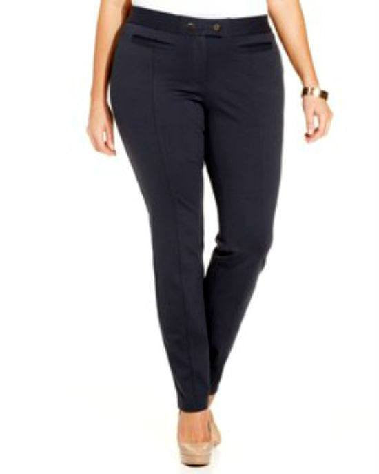 Alfani Plus Size Straight-Leg Pants-ALFANI-Fashionbarn shop