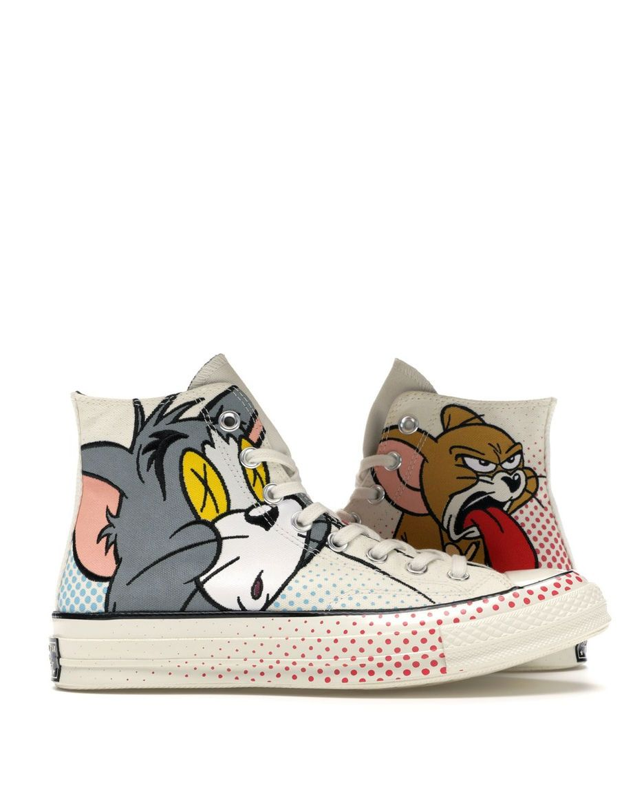 1) Converse Unisex Tom and Jerry x