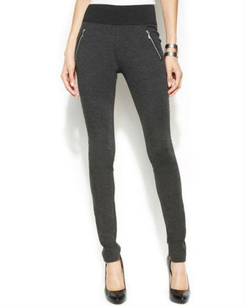 INC International Concepts Skinny Zipper-Trim Pull-On Pants-INC-Fashionbarn shop