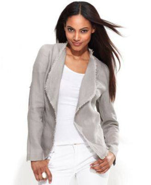 INC DRAPED FRONT JACKET - Fashionbarn shop