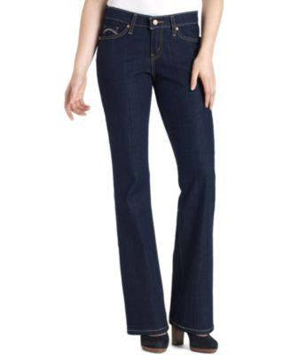 LEVIS JEANS, 529 CURVY BOOTCUT-LEG, RIGHT ON BLUE 16R-LEVI STRAUSS-Fashionbarn shop