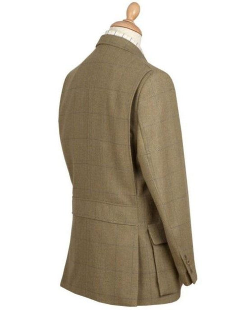 Cordings House Check Action Back Tweed Jacket