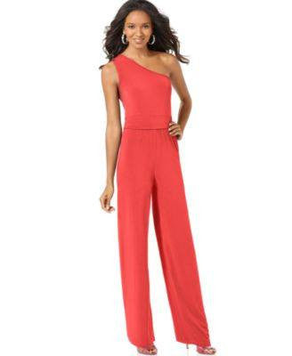NY COLLECTION JUMPSUIT-NY COLLECTION-Fashionbarn shop