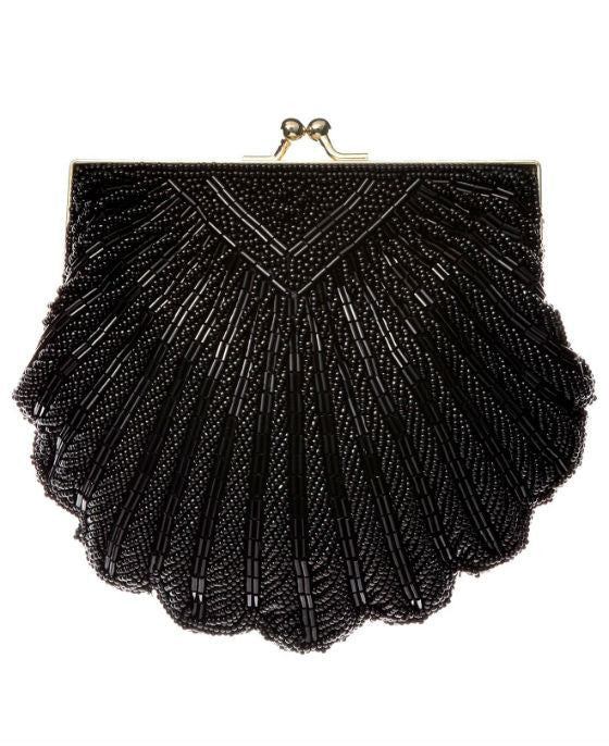 La Regale Shell Beaded Evening Clutch - Fashionbarn shop - 2