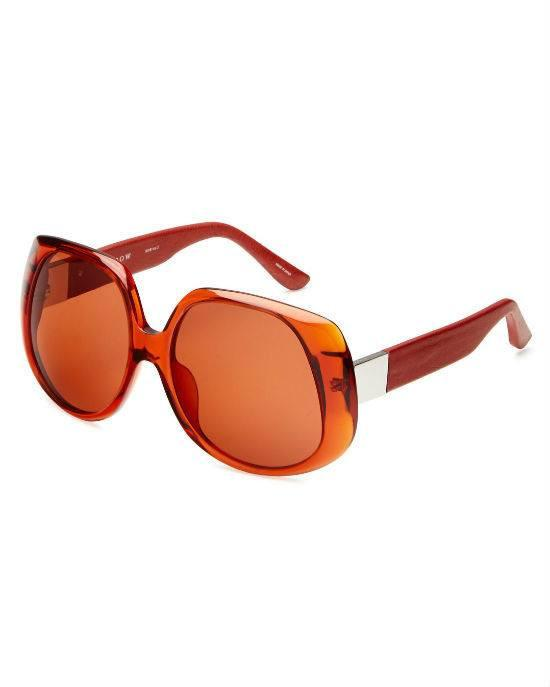 Linda Farrow Sunglass 46C3 TerraRed-LINDA FARROW-Fashionbarn shop