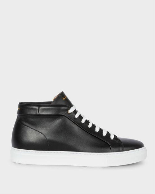 Men's Ace Leather High-Top Sneakers