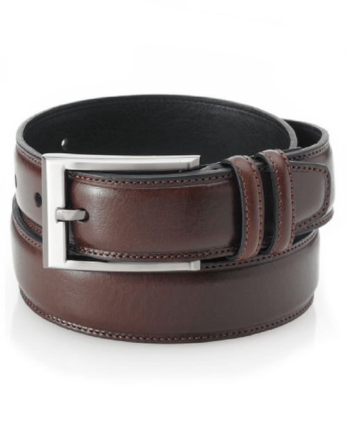 Club Room Leather Dress Belt-CLUB ROOM-Fashionbarn shop