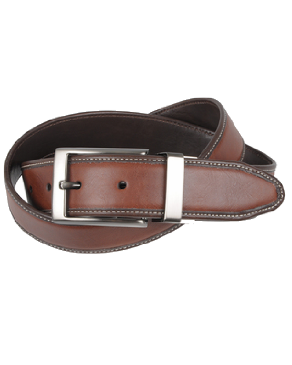 Geoffrey Beene Men's Reversible Leather Belt-GEOFFREY BEENE-Fashionbarn shop