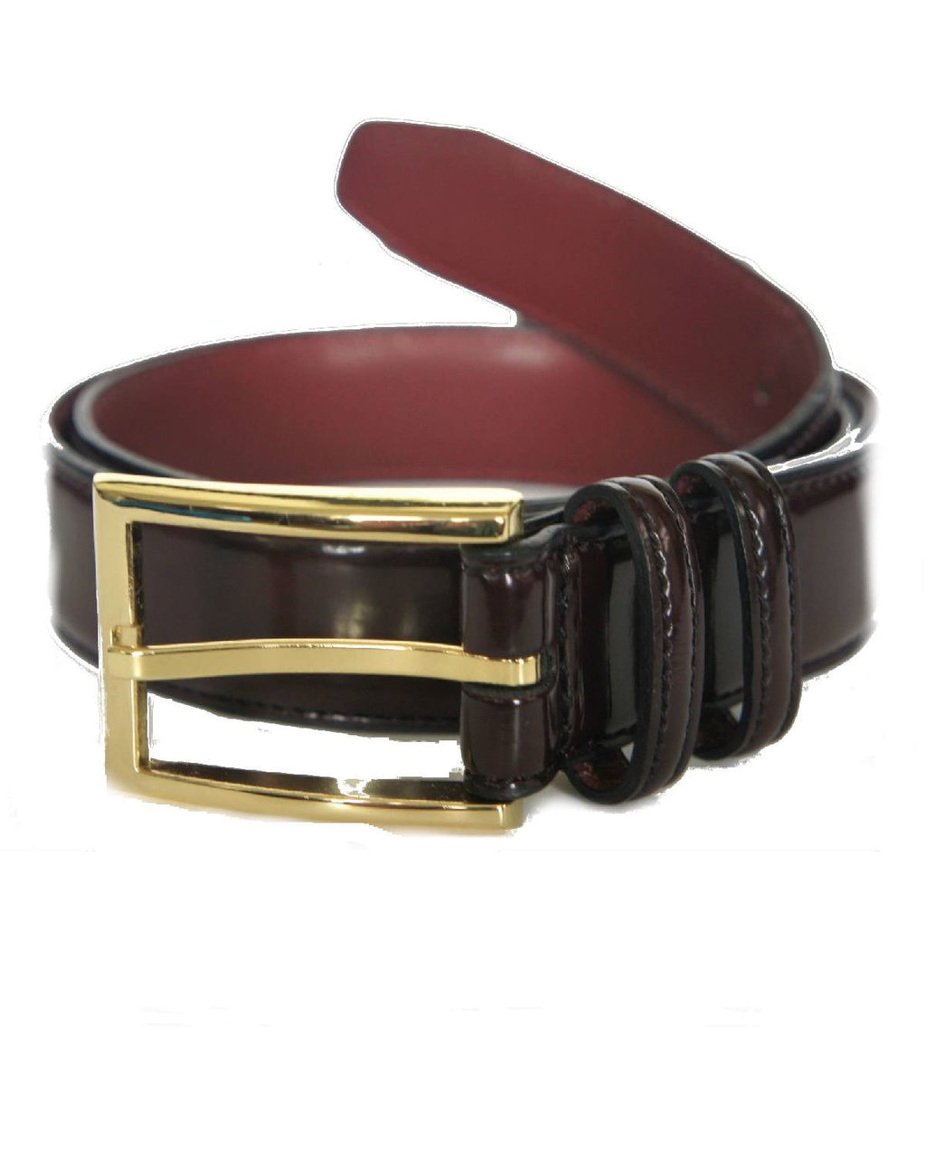 Geoffrey Beene Men's Stitched Genuine Leather Belt-GEOFFREY BEENE-Fashionbarn shop