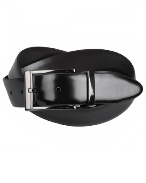 Geoffrey Beene Reversible Leather Belt-GEOFFREY BEENE-Fashionbarn shop