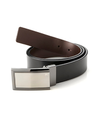 Perry Ellis Plaque Reversible Belt-PERRY ELLIS-Fashionbarn shop