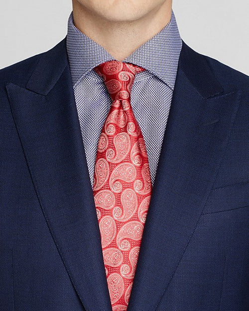 Canali Birdseye Regular Fit Suit-CANALI-Fashionbarn shop