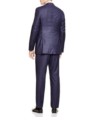Canali Windowpane Firenze Regular Fit Suit-CANALI-Fashionbarn shop