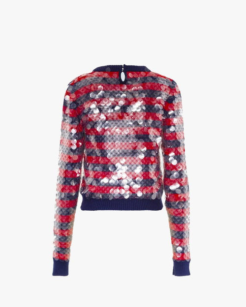 Miu Miu Embroidered Wool Sweater