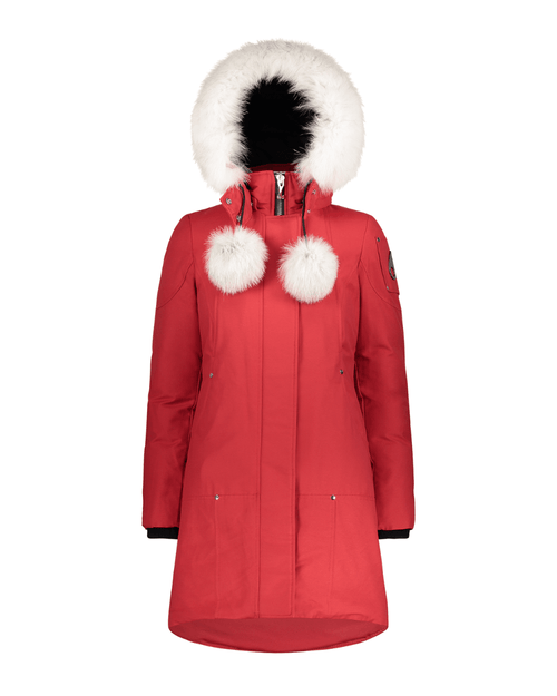 Moose Knuckles Stirling Parka, Red