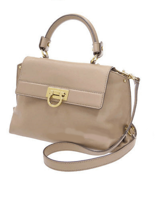 Salvatore Ferragamo Medium Sofia Satchel-SALVATORE FERRAGAMO-Fashionbarn shop