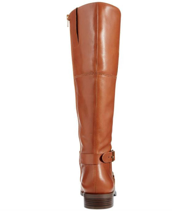 Nine West Blogger Round Toe Leather Knee High Boot - Fashionbarn shop - 2