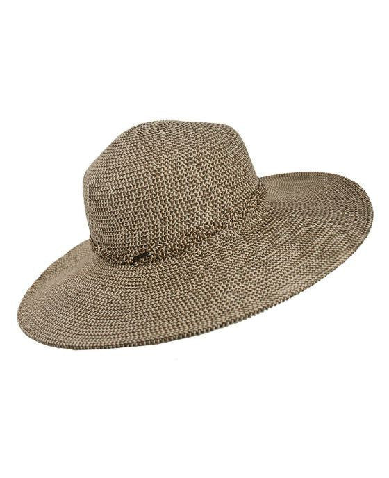Nine West Packable Floppy Hat Brown Combo - Fashionbarn shop - 3