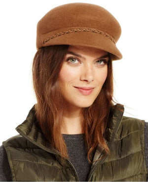 Nine West Felt Newsboy Hat Black - Fashionbarn shop - 2