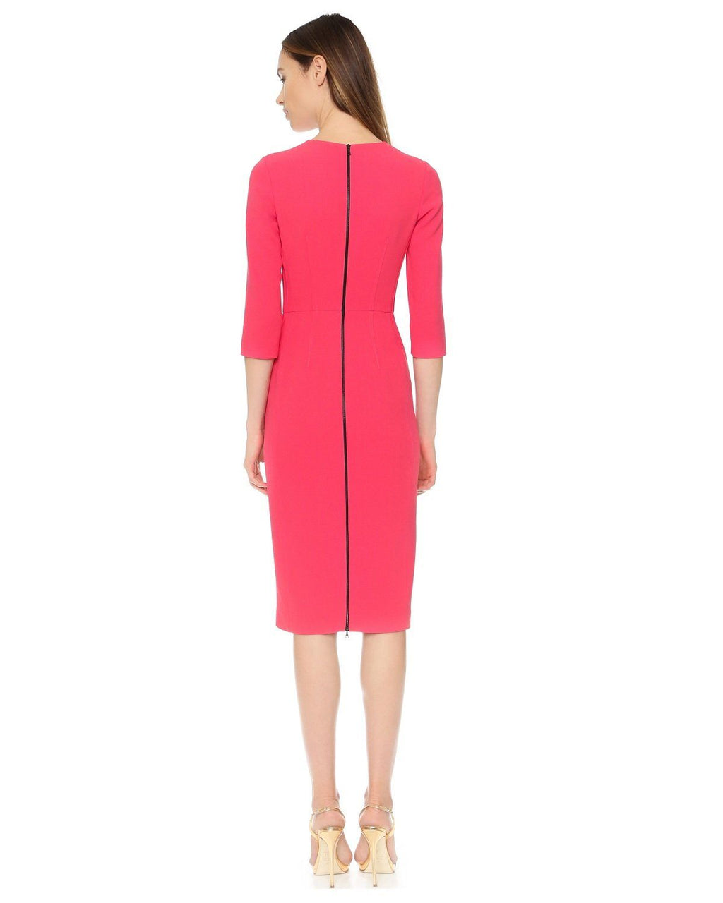 Narciso Rodriguez 3/4 Sleeve Dress