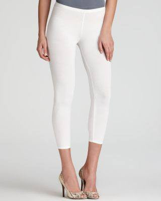 EILEEN FISHER WHIT CROPPED LEGGING-EILEEN FISHER-Fashionbarn shop