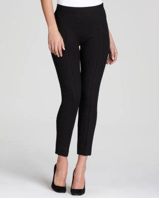 MOSCHINO CHEAP BLACK STRAIGHT LEGGING PANT-MOSCHINO CHEAP AND CHIC-Fashionbarn shop