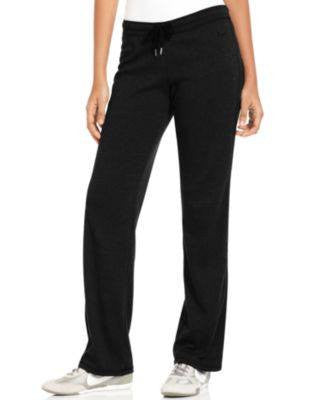 NIKE PANTS, STRAIGHT-LEG ACTIVE BLACK XS-NIKE-Fashionbarn shop