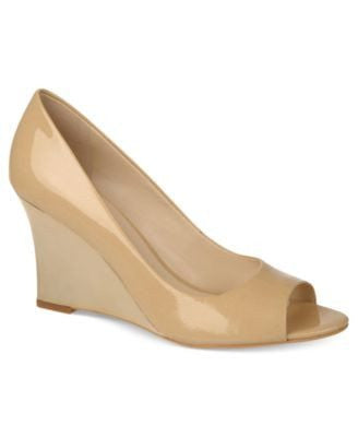 PEEP-TOE-WEDGES PUMPS-FRANCO SARTO-Fashionbarn shop