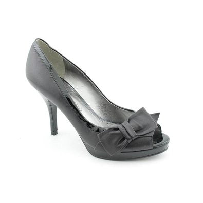 Marc Fisher Manilla Womens Open Toe Leather Platforms Heels Pumps-MARC FISHER-Fashionbarn shop