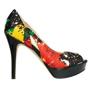 Marc Fisher Tumble Platform Pumps-MARC FISHER-Fashionbarn shop