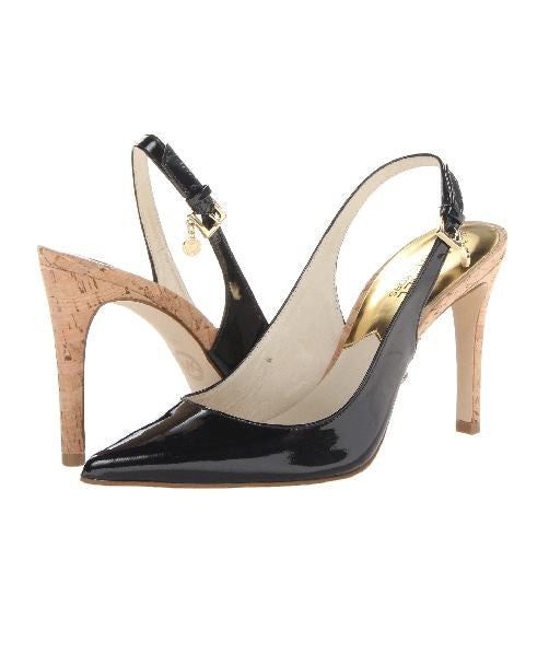 Michael Kors Pointed Toe Slingback Pumps Elisa High Heel-MICHAEL MICHAEL KORS-Fashionbarn shop