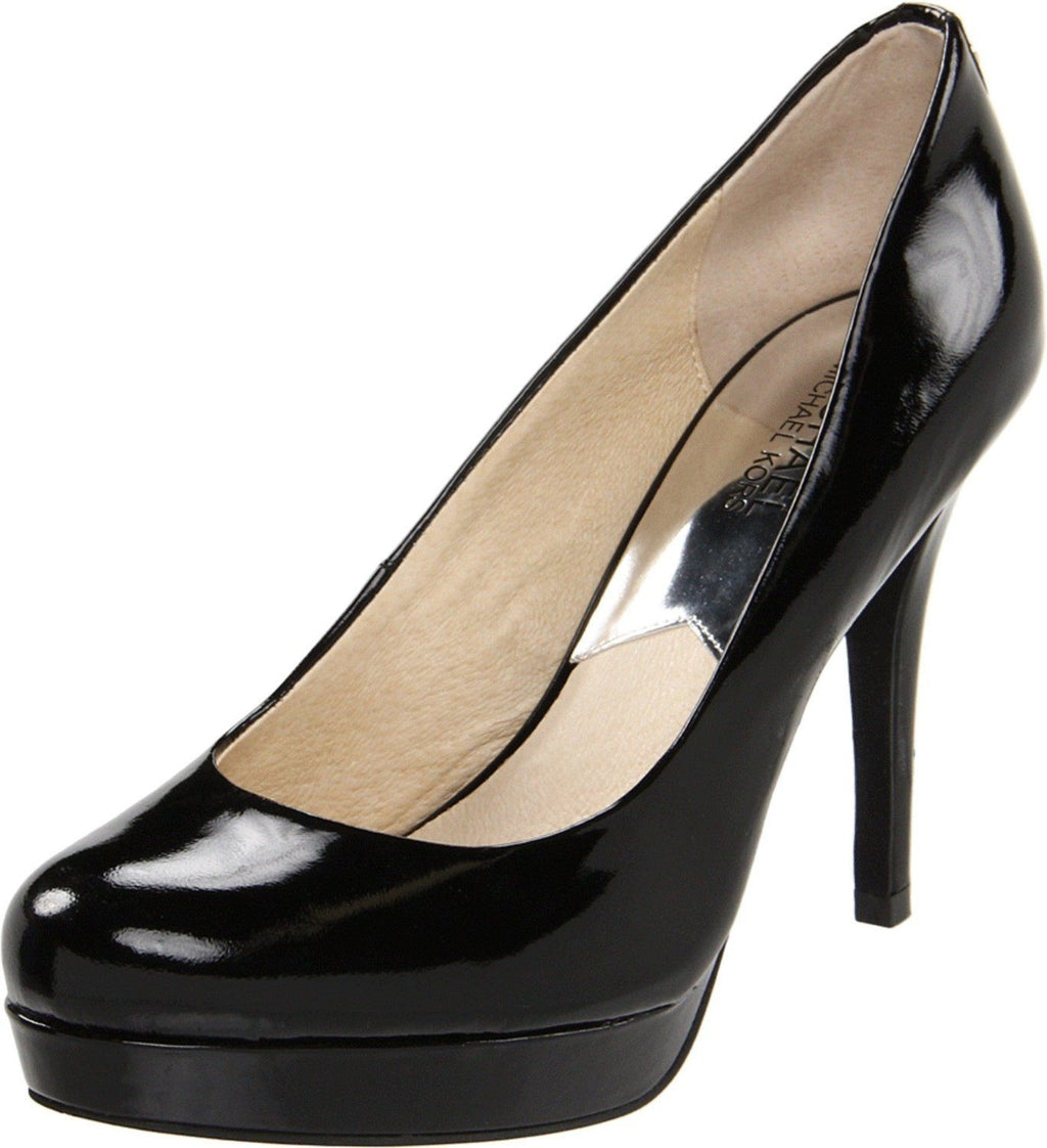 Michael Kors Shoes, Ionna Patent Leather Platform-MICHAEL MICHAEL KORS-Fashionbarn shop