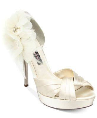 NINA EVENING PLATFORM PUMPS-NINA-Fashionbarn shop