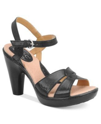 B O C PLATFORM SANDALS-B O C FOOTWEAR-Fashionbarn shop